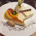 Lecker Abendessen im Thermen-Hotel