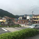 Am Bahnhof von Nikko - einem der touristischen Hotspots Japans