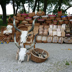 Der Ort und die Region sind wegen der Wanderhirten-Kultur auch UNESCO-Weltkulturerbe