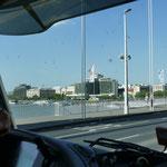 einmal über die Donau und die Elisabethenbrücke - benannt nach Sissy