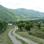 """Der landschaftlich wunderschön gelegene Campingplatz """"Ananas"""" ist unser Ausgangspunkt für die Erkundung von Sibiu"""