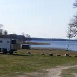 Unser Premium-Übernachtungsplatz am See