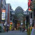 Beim Bummel durch die Einkaufspassagen Hiroshimas