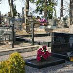 Der Friedhof mit den Gräbern der russischen Altgläubigen