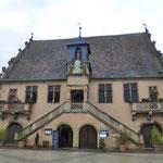 """Die alte """"Metzig"""" - das mittelalterliche Gebäude für die Metzger-Innung"""
