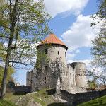 .... alte Ordensburg des livländischen Ordens aus dem Mittelalter