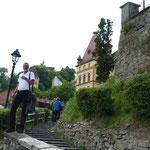 Eine wunderschöne, mittelalterliche Altstadt, verteilt auf drei Ebenen.
