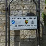 Zweite Station dieses Tages ist die Königliche Saline von Arc-et-Senans