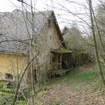 Eine verlassene Mühle am Muglbach
