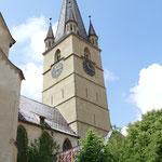 Und der Marienkirche steigen wir auf's Dach bzw. den Turm