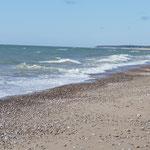 Beim Blick auf's Meer die Reiseeindrücke sacken lassen