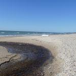 Wieder einmal ein menschenleerer Strand