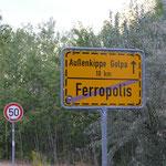 Good-Bye Ferropolis und Danke für die ruhige Nacht
