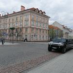 Ein paar Vertreter des Straßenverkehrs in Litauen