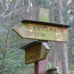 Viele markierte Wanderwege führen durch diese stille und erholsame Region