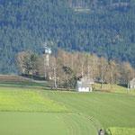 Der Grenzlandturm auf deutscher Seite
