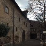 Unter dem Schwörhof befinden sich  einige ehemalige Weinkeller