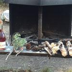 Vorbereitungen für's Abendessen
