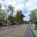 Die Hauptpromenade in Palanga