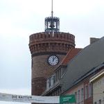 Vom Spremberg-Turm bekommt man einen ersten Überblick über die Altstadt von Cottbus