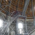 Das beeindruckende Innenleben der Kuppel