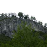 Das Apuseni Gebirge - ein Kalkstein-Massiv - ist erreicht