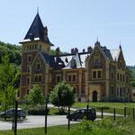 Ein Schlosshotel mitten in den Bergen
