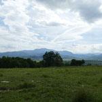 Noch ein wenig die schöne Aussicht am Bärenreservat genießen