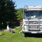 Einen Campingplatz zum Wohlfühlen finden wir in Sapanta