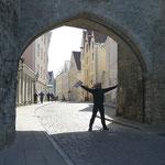 Durch dieses Tor geht es hinein in die Altstadt Tallins