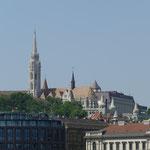Die Matthias-Kirche im Stadtteil  Buda