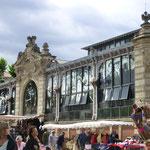 auch die Markthalle von Narbonne