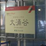Vom Gipfel des Owakudani geht es mit der Seilbahn hinunter nach Togendai