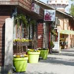 Und ein netter Blumenmarkt
