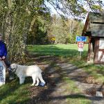 Der Fußgänger-Überweg nach Tschechien - grenzenlos glücklich, sollte man meinen