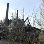 Erste Eindrücke von der Völklinger Hütte - dem rostigen Koloss der Industriegeschichte