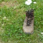 Da hat wohl jemand seine Schuhe vergessen