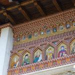 eine schöne Kirche, die bei unserem Besuch gerade renoviert wird