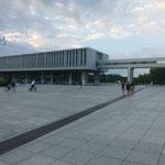 Das Friedensmuseum steht auf dem Besichtigungsprogramm des kommenden Tages