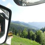 Weiter hinauf in Richtung Prislop-Pass
