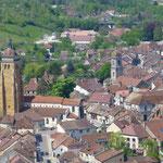 und die Stadt Arbois
