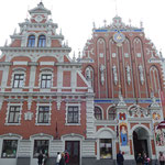 Das Schwarzhäupter-Haus, eines der bekanntesten Sehenswürdigkeiten Rigas