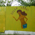 Eingang zum Strandbad nur für Frauen