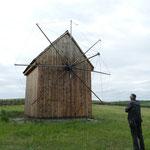Ebensowenig eine Windmühle, in der auch Salz gemahlen wurde