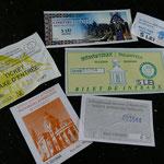 Und das ist die kulturelle Bilanz unseres Besuches an den Moldau-Klöstern
