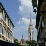 Die Matthiaskirche - Krönungskirche auch von Sissy und Franz Josef