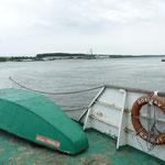 Wir hoffen, dass wir dieses Rettungsboot nicht brauchen werden