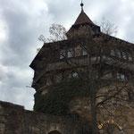 Markantes Kennzeichen der Esslinger Burg