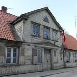 Alte Holzhäuser in der Stadtmitte