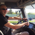 Trucker Frank in Aktion